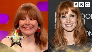 Could Jessica Chastain be Bryce Dallas Howard's twin? - BBC | Kholo.pk