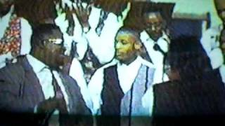 Tim Arrington, Myron Butler, The Anointed Pace Sisters and Voices Of Power singing Rejoice (reprise)