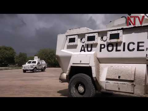 Uganda police's contribution to Somalia's security praised
