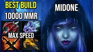 Max ATK Speed [Drow Ranger] The 10K MMR Show By Midone Destroyed Huskar Solo Mid Epic Dota 2