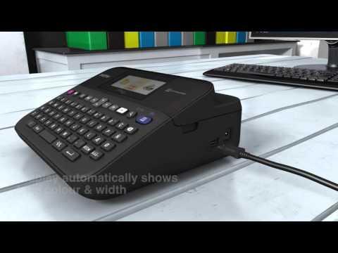 PT-D600 Brother Desktop Label Printer