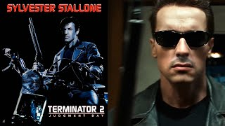 "(Video) ""Terminator 2 starring Sylvester Stallone [DeepFake]"" instead of Arnold Schwarzenegger"