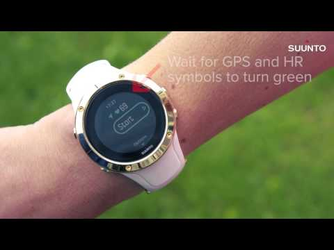 Suunto Spartan Trainer Wrist HR - Recording an exercise