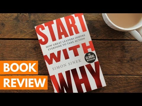 BOOK REVIEW: Start with Why by Simon Sinek | Roseanna Sunley Business Book Reviews