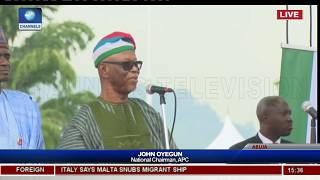 APC Nat'l Convention: Thank You For Allowing Me Serve, Oyegun Extols Party Leaders