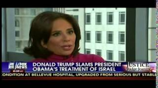 Donald Trump Accuses Obama Of Being Israel's Greatest Enemy