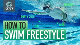 How To Swim Freestyle | Technique For Front Crawl Swimming