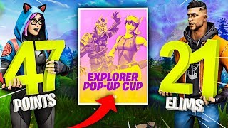 POP-UP CUP DOMINATION! (21 ELIMS & 47 → 53 POINTS)