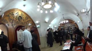 preview picture of video 'קבר רבי שמעון בר יוחאי A visit to the tomb of Rabbi Shimon Bar Yochai, Meron Israel'