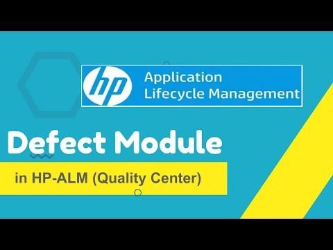 Defect Module in HP-ALM