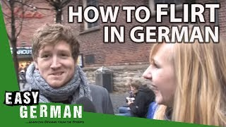 Flirting in Germany   Easy German 12