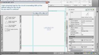Creating a Power System— AutoCAD MEP 2011