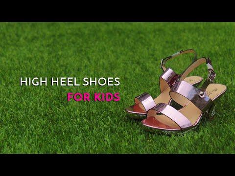 Should kids wear High Heel Shoes or Stilettos? - Georgina Tay, Singapore Podiatrist