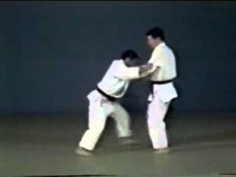 Judo - Harai-makikomi