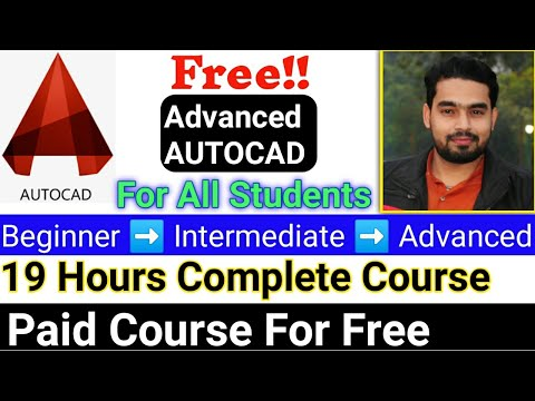 Autocad course for free Online With Certificate, Free Online Courses 2020, AutoCAD | Udemy