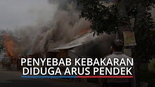 Polisi Ungkap Penyebab Kebakaran 3 Bangunan Dekat Istano Basa Pagaruyung, Diduga Arus Pendek