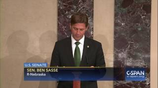 """Sen. Sasse to President Trump on making recess appointment: """"Forget about it."""" (C-SPAN)"""