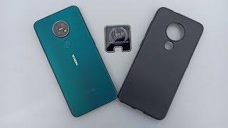 Nokia 7.2 CAMERA LENS & BACK CASE!!