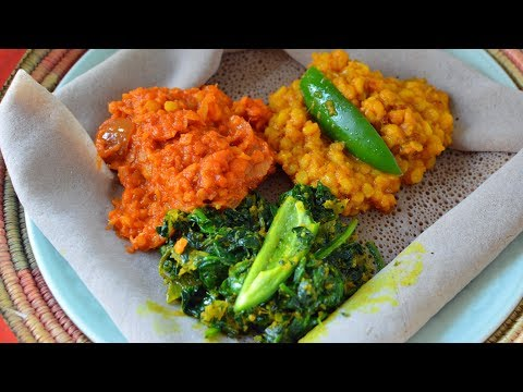 3 Vegan Ethiopian Recipes