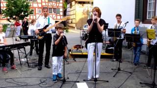 OpenairBand Der Musikschule Weinland Nord 28 Juni 2013