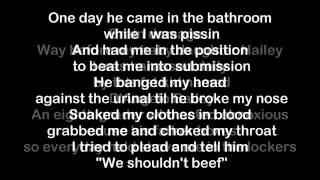 Eminem - Brain Damage [HQ Lyrics]