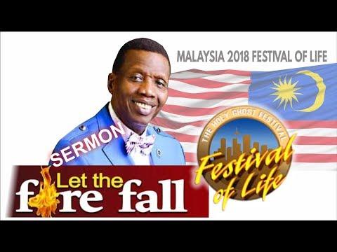 Pastor E.A Adeboye Sermon @ RCCG 2018 Malaysia FESTIVAL OF LIFE