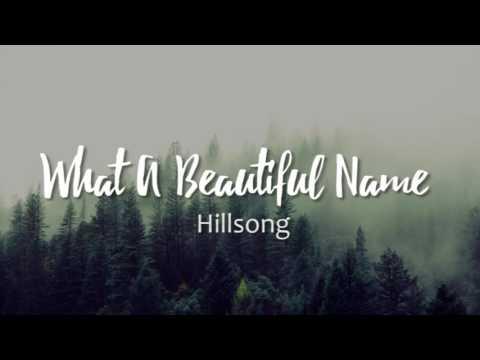 What a Beautiful Name - Hillsong United escrita como se