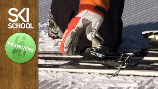 Ski school lesson 1 – Getting started