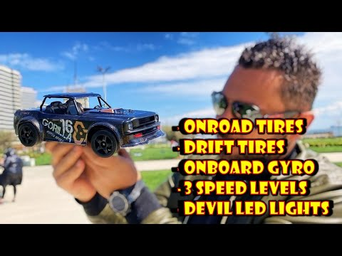SG 1604 the Amazing 2in1 OnRoad & Drift RC Car - FULL REVIEW