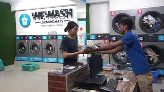 How To Start Laundry & Dry cleaning Business | WE WASH LAUNDROMATS INDIA'S FIRST LIVE LAUNDRY COMPNY