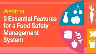 Webinar   9 Essential Features for a Food Safety Management System   SoftExpert