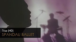 YouTube video E-card Click here to subscribe   Music video by Spandau Ballet performing TRUE Taken from the album