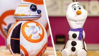 OLAF CAKE For Disney Frozen 2 & MORE! | How To Cake It Step By Step