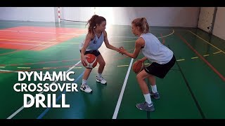 DYNAMIC CROSSOVER DRILL🤝😻🤲🏀❤️