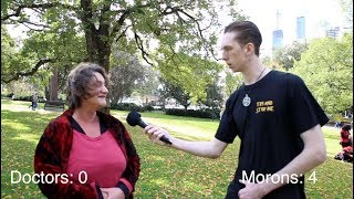Searching For A Doctor at an Anti-Vaccine Rally - BMB Ep 1 - 1/4