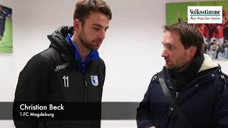 FCM: Beck nach 3:1 in Erfurt