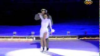 Josh Groban & Charlotte Church - The Prayer (Olympics).mpeg