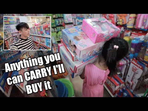 Anything You Can Carry I'll Buy It Challenge