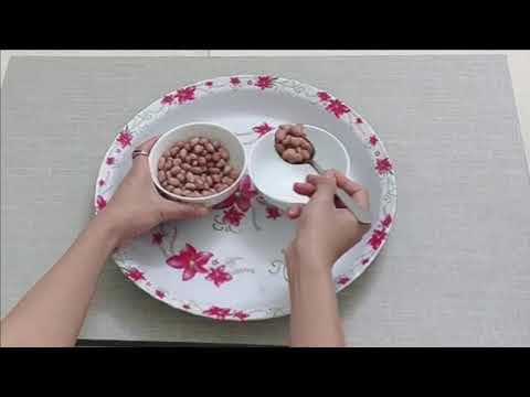 Kỹ năng chuyển hạt bằng thìa - Montessori - MGB