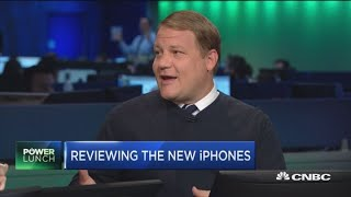 CNBC hands-on review with the new iPhones