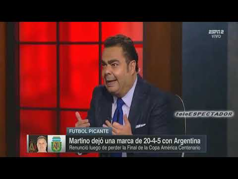 Argentina y Mexico se disputan al Tata Martino - Futbol Picante
