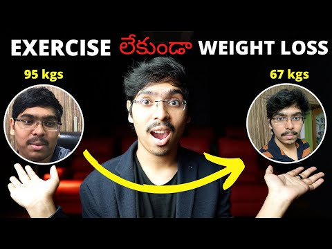 weight loss without exercise