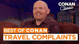 Bill Burr's Issues With The Airline Boarding Process | CONAN on TBS