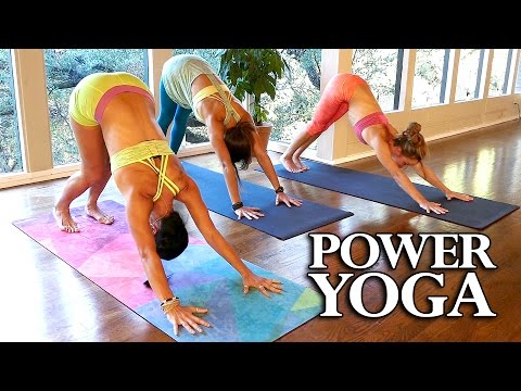 Power Yoga for Weight Loss & Belly Fat, Beginners 20 Minute Workout at Home, Total Body Routine