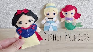 DIY Felted Disney Princess
