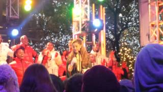 Ariana Grande performing Love is Everything live