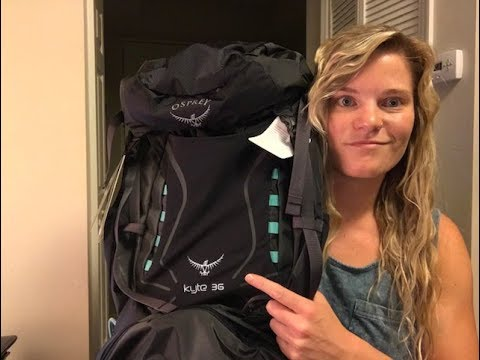 2018 Osprey Women's Kyte 36 – Camino de Santiago Hiking Backpack Review
