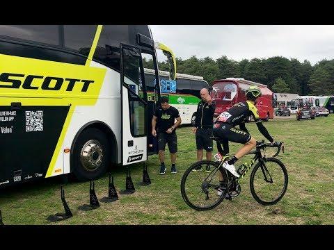 Scott and the Mitchelton Scott pro cycling team