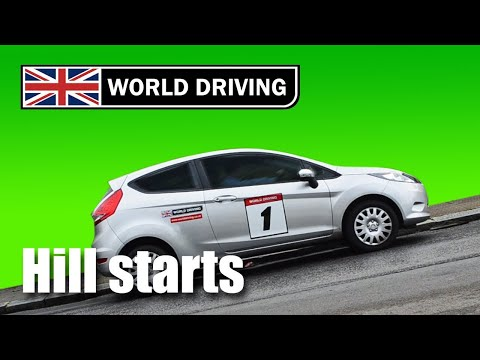 How to do hill starts easily in a manual/stick shift car – learning to drive tips