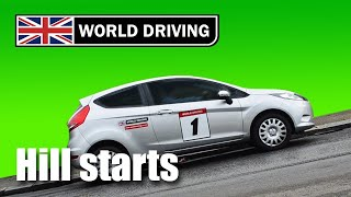 How To Do Hill Starts Easily In A Manual Car - Learning To Drive